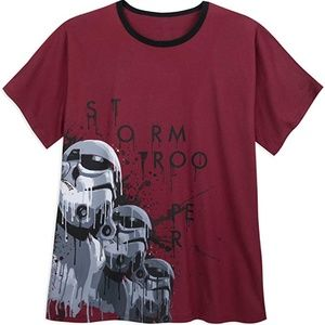Disney Star Wars Storm Troopers Graphic Tee Shirt
